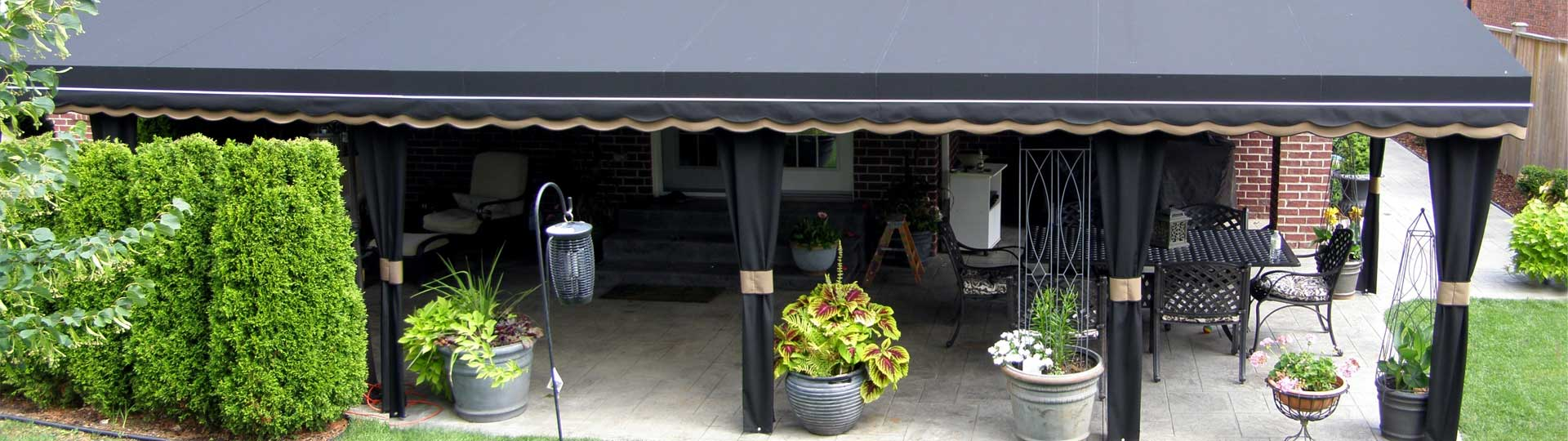 patio awnings windsor custom patio awnings chatham and