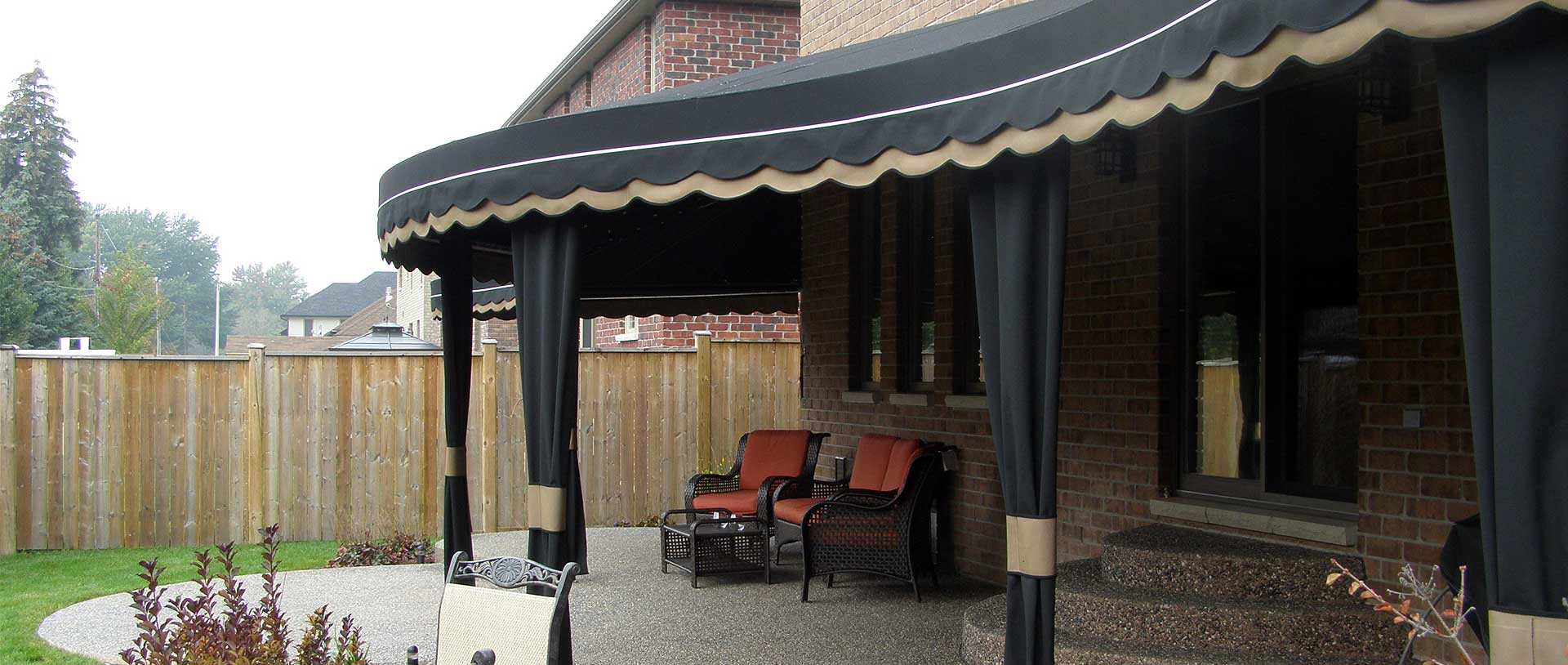 Custom Fabric Awnings