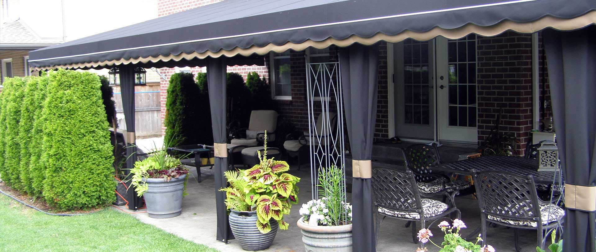 canopy polycarbonate outdoor warranty of awning awnings year pin aluminium set usd