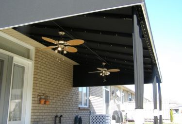 Custom Made Awning - Chatham Home