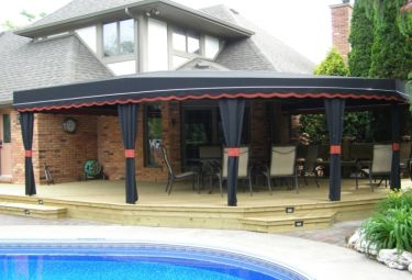 Custom Made Fabric Awnings